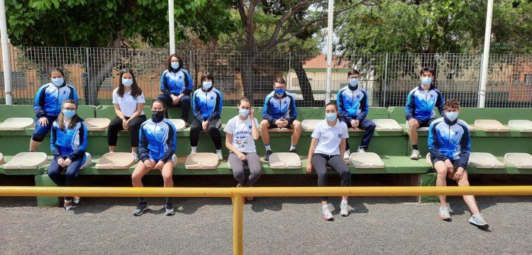 Atletas Eliocroca en Pista