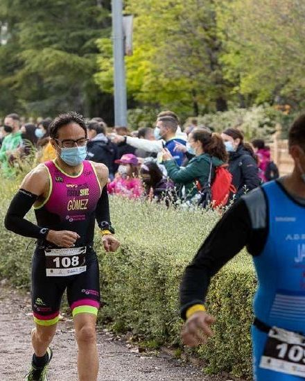 Foto Jacobo Mazuchelli en competición